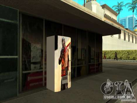 Soda pop Ray Mysterio para GTA San Andreas segunda tela