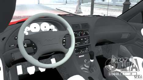 Saleen S281 2000 para GTA 4 vista de volta