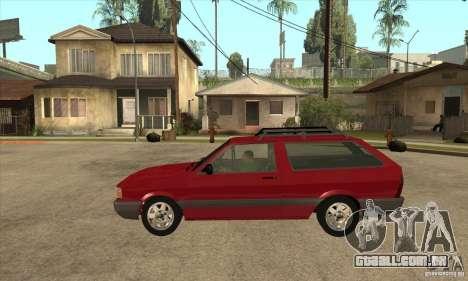 VW Parati GL 1994 para GTA San Andreas esquerda vista