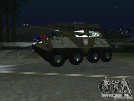 APC-60FSV para GTA San Andreas traseira esquerda vista