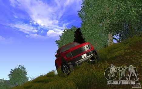 Ford F150 SVT RapTor para GTA San Andreas vista direita
