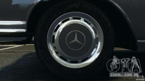 Mercedes-Benz 300Sel 1971 v1.0 para GTA 4 motor