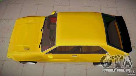 Opel Kadett D GTE Mattig Tuning para GTA San Andreas vista direita