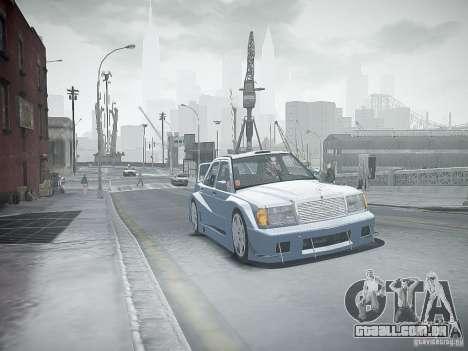 Mercedes 190E Evo2 para GTA 4 vista inferior