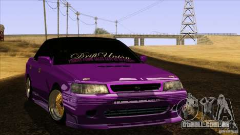 Subaru Legacy Drift Union para GTA San Andreas