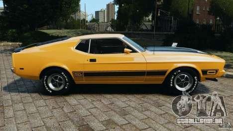 Ford Mustang Mach 1 1973 para GTA 4 esquerda vista