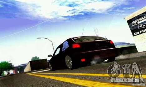 Volkswagen GOL G2 Tuning para GTA San Andreas vista traseira