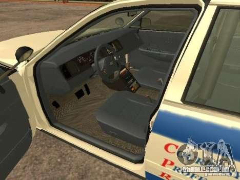 Ford Crown Victoria 2003 Police para GTA San Andreas traseira esquerda vista