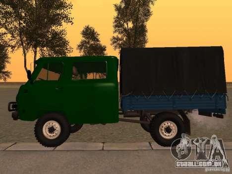 UAZ 39094 para GTA San Andreas esquerda vista