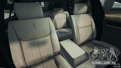 Lincoln Town Car 2006 v1.0 para GTA 4 vista interior