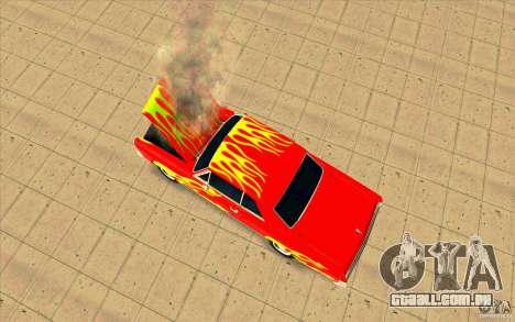 Dead car para GTA San Andreas terceira tela
