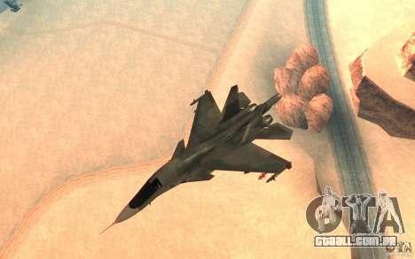O Su-34 para GTA San Andreas