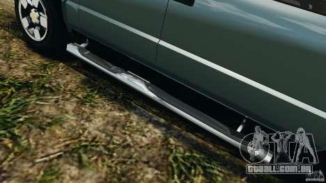 Chevrolet S-10 Colinas Cabine Dupla para GTA 4 interior