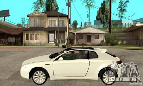 Alfa Romeo Brera para GTA San Andreas esquerda vista