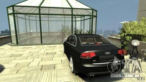 Audi S4 Quattro para GTA 4 traseira esquerda vista