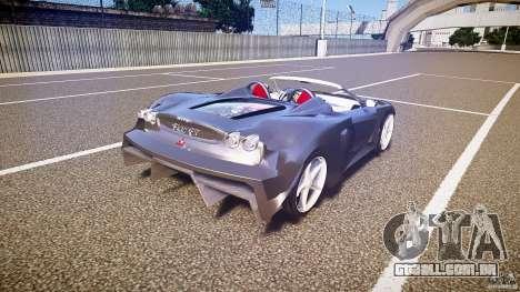 Ferrari F430 Extreme Tuning para GTA 4 vista superior