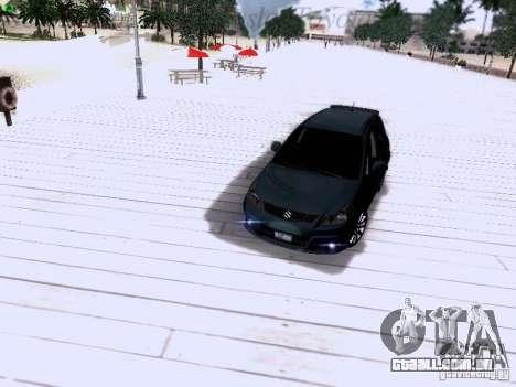 Suzuki SX4 Sportback 2011 para GTA San Andreas vista inferior