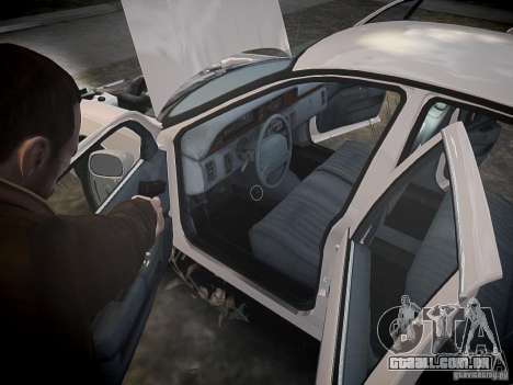 Chevrolet Caprice 1993 Rims 1 para GTA 4 vista inferior