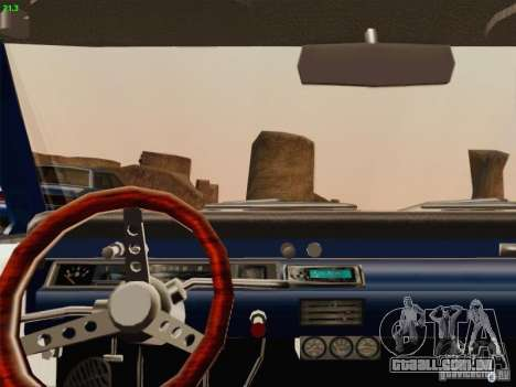 Chevrolet Chevelle para vista lateral GTA San Andreas