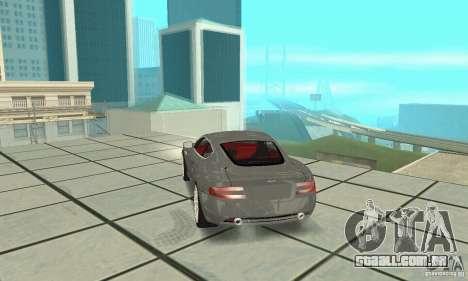 Aston Martin DB9 para GTA San Andreas