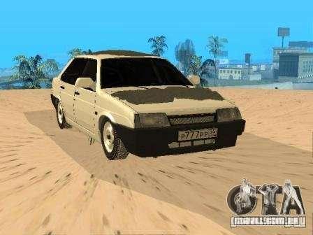 VAZ inverno 21099 para GTA San Andreas