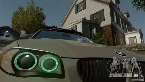 BMW 135i HellaFush para GTA 4 traseira esquerda vista
