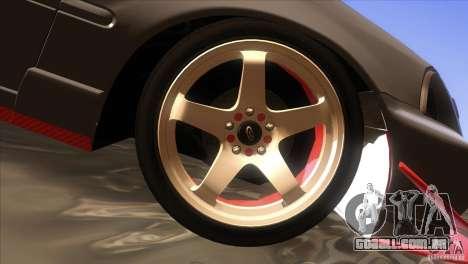 Honda Civic SI para GTA San Andreas vista inferior