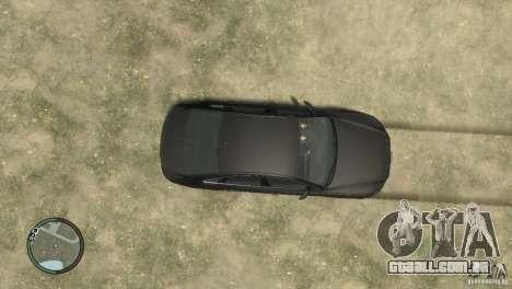 Audi A8 V8 FSI para GTA 4 vista de volta