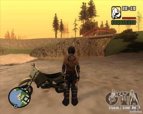O racer do combustível para GTA San Andreas terceira tela