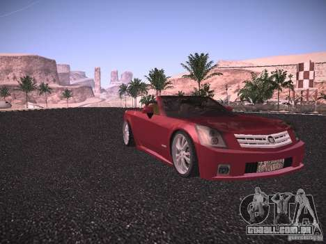 Cadillac XLR 2006 para GTA San Andreas esquerda vista