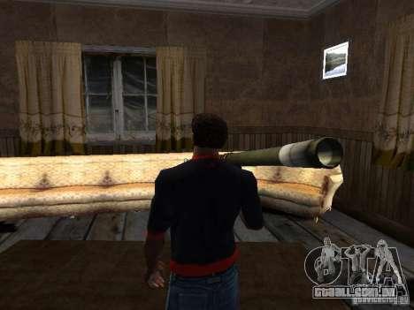 MANPADS agulha 2 para GTA San Andreas terceira tela