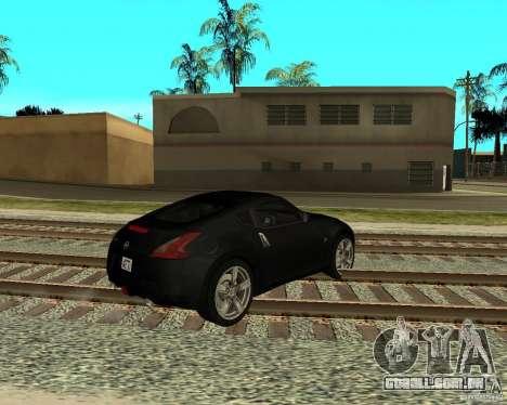 Nissan 370Z v2.0 para GTA San Andreas vista direita