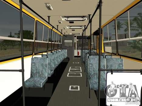 IKARUS 260 para GTA San Andreas interior