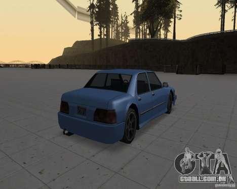 Máquinas sem sujeira para GTA San Andreas por diante tela