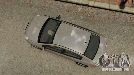 Nissan Sentra S 2008 para GTA 4 vista direita