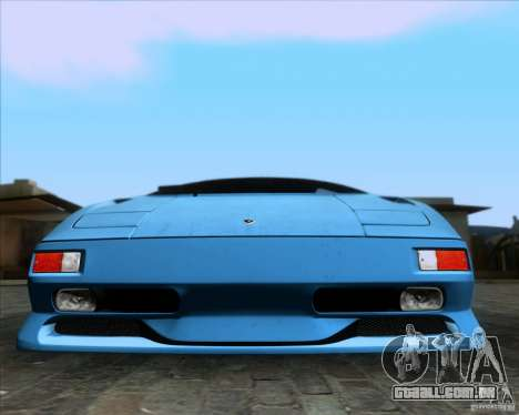 Lamborghini Diablo SV V1.0 para o motor de GTA San Andreas