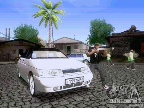 LADA 21103 Maxi para GTA San Andreas vista inferior