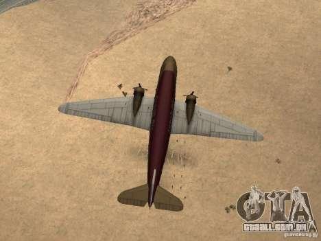 Bombas para os aviões para GTA San Andreas sexta tela