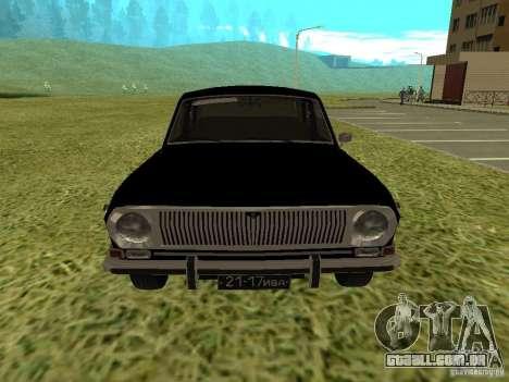 Volga GAZ-24-01 para GTA San Andreas traseira esquerda vista