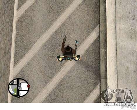 Um novo Jetpack para GTA San Andreas terceira tela