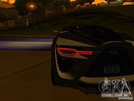 Bertone Mantide para o motor de GTA San Andreas