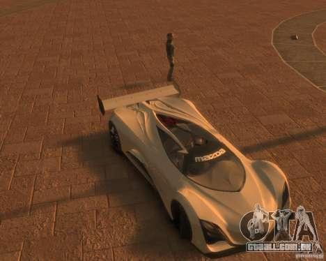 Mazda Furai para GTA 4 traseira esquerda vista