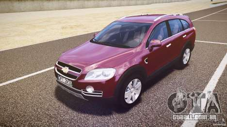 Chevrolet Captiva 2010 Final para GTA 4 esquerda vista