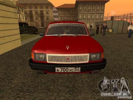 Volga GAZ 31029 Sl para GTA San Andreas esquerda vista