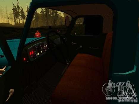 GAZ 53 para vista lateral GTA San Andreas