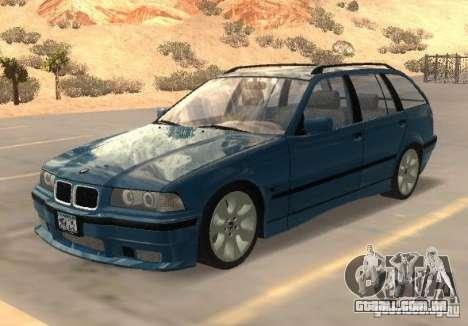 BMW 318i Touring para GTA San Andreas