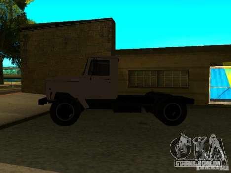 Trator de GAZ 3309 para GTA San Andreas esquerda vista
