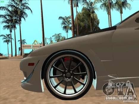 Toyota Soarer (JZZ30) para GTA San Andreas vista superior