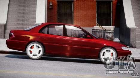 Opel Omega 1996 V2.0 First Public para GTA 4 vista interior