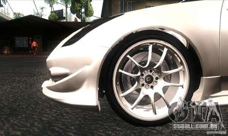 Toyota Celica-SS2 Tuning v1.1 para GTA San Andreas vista superior